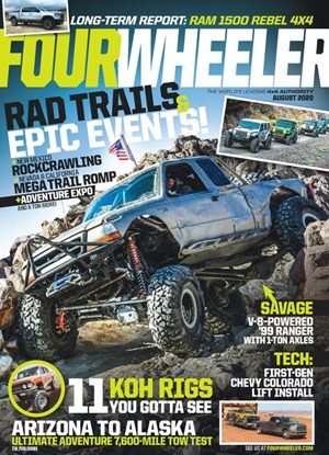 Four Wheeler Magazine | 8/2020 Cover