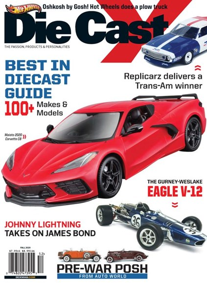 Diecast X Cover - 9/1/2020
