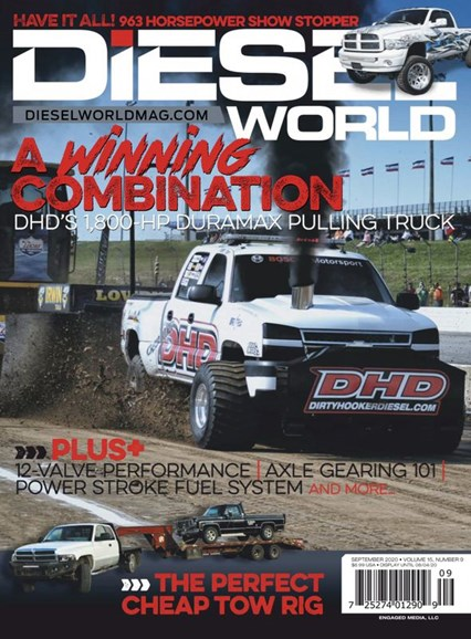 Diesel World Cover - 9/1/2020