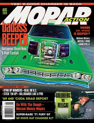Mopar Action Magazine | 8/2020 Cover