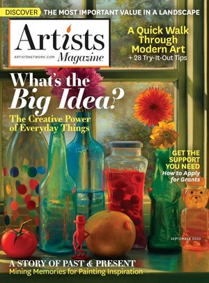 Artists Magazine | 9/2020 Cover
