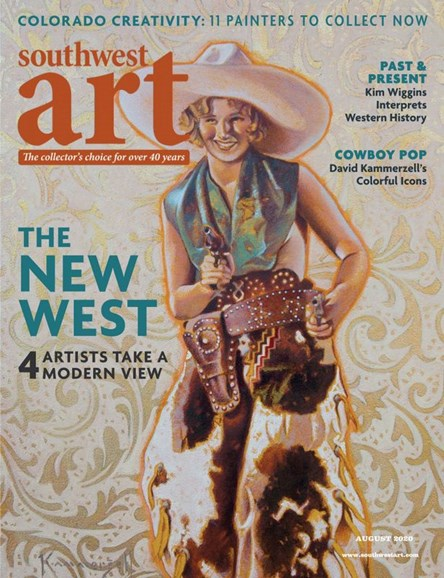 Southwest Art Cover - 8/1/2020