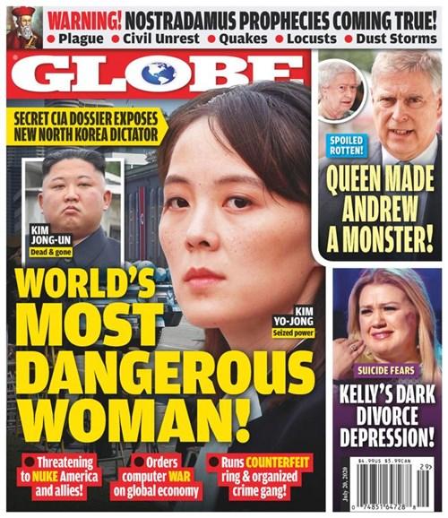 Globe Cover - 7/20/2020