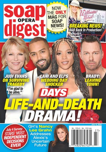 Soap Opera Digest Cover - 7/6/2020