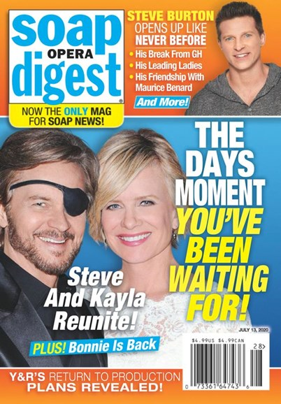 Soap Opera Digest Cover - 7/13/2020