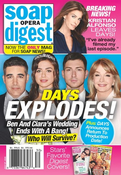 Soap Opera Digest Cover - 7/27/2020