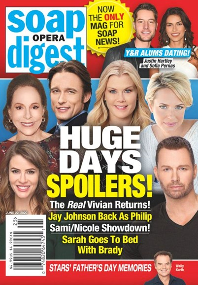 Soap Opera Digest Cover - 6/22/2020