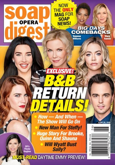 Soap Opera Digest Cover - 6/29/2020