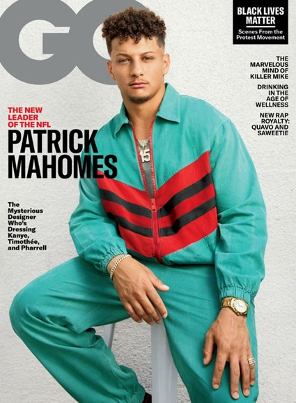 Gentlemen's Quarterly - GQ Cover - 8/1/2020