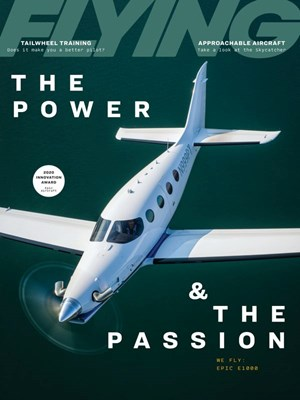 Flying Magazine | 8/2020 Cover