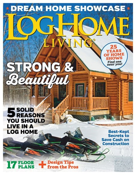 Log and Timber Home Living Cover - 1/1/2020