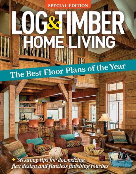 Log and Timber Home Living Cover - 7/1/2020