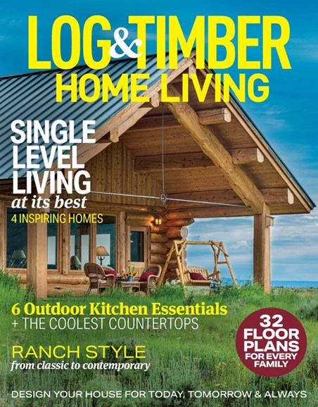Log and Timber Home Living Cover - 6/1/2020
