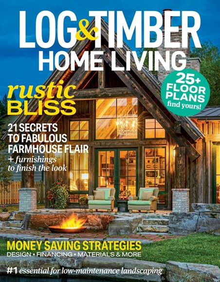 Log and Timber Home Living Cover - 3/1/2020