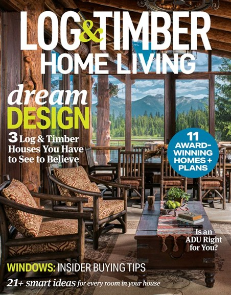 Log and Timber Home Living Cover - 5/1/2020