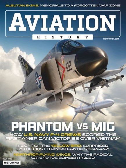 Aviation History Cover - 7/1/2020