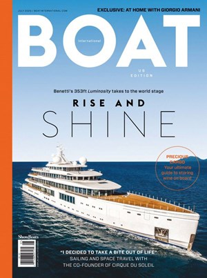 Boat International Magazine | 7/2020 Cover