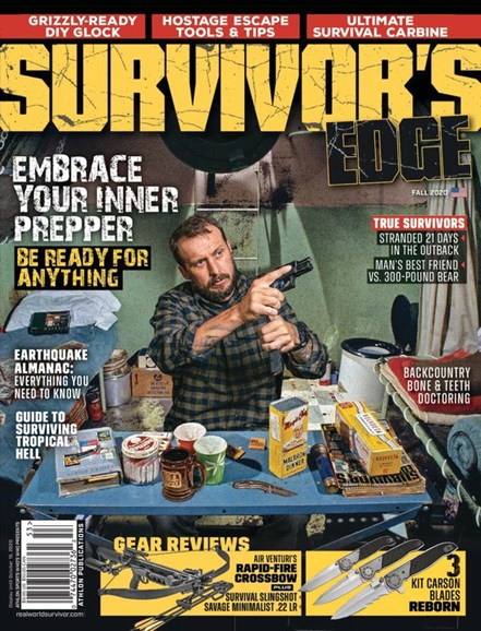 Survivor's Edge Cover - 9/1/2020
