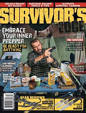 The Survivor's Edge | 9/2020 Cover