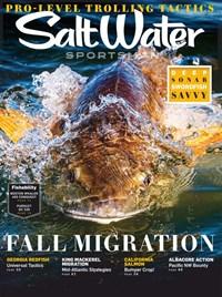 Salt Water Sportsman Magazine   8/2020 Cover