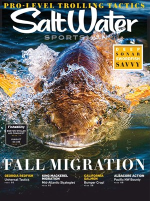 Salt Water Sportsman Magazine | 8/2020 Cover