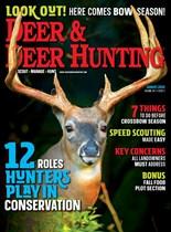 Deer & Deer Hunting   8/2020 Cover