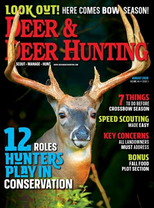 Deer & Deer Hunting Magazine | 8/2020 Cover