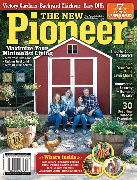 The New Pioneer Cover - 10/1/2020