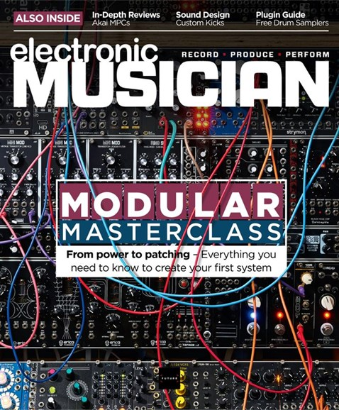 Electronic Musician Cover - 9/1/2020