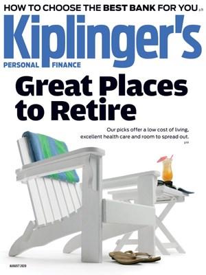 Kiplinger's Personal Finance Magazine | 8/2020 Cover