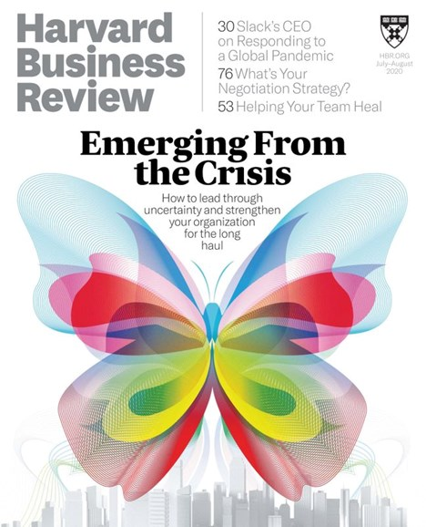 Harvard Business Review Cover - 8/1/2020