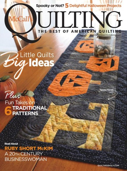 McCall's Quilting Cover - 9/1/2020