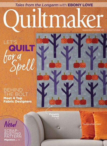 Quiltmaker Cover - 9/1/2020