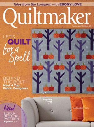 Quiltmaker Magazine | 9/2020 Cover