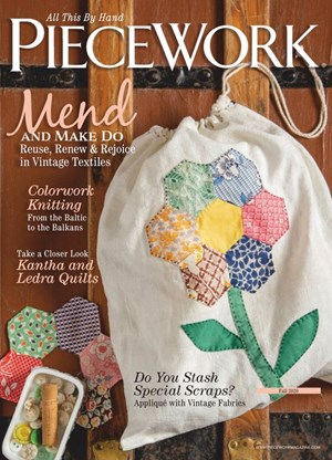 Piecework Magazine | 9/2020 Cover