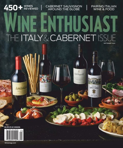 Wine Enthusiast Cover - 9/1/2020