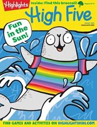 High Five Magazine   8/2020 Cover