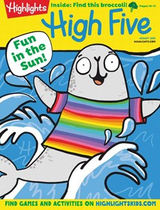 Highlights High Five | 8/2020 Cover