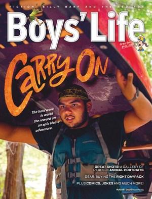 Boy's Life Magazine | 8/2020 Cover