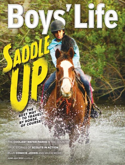 Boy's Life Cover - 6/1/2020