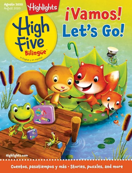 Highlights High Five Bilingue Cover - 8/1/2020