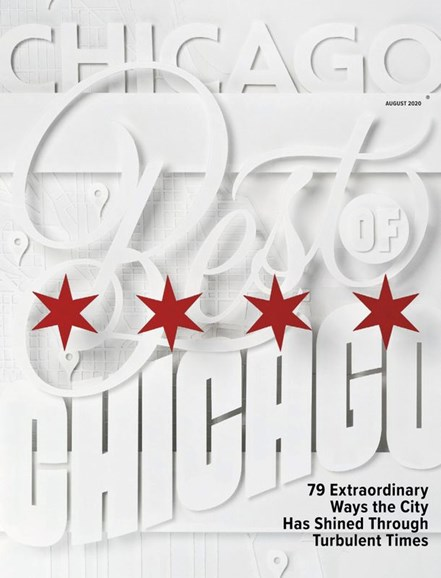 Chicago Magazine Cover - 8/1/2020