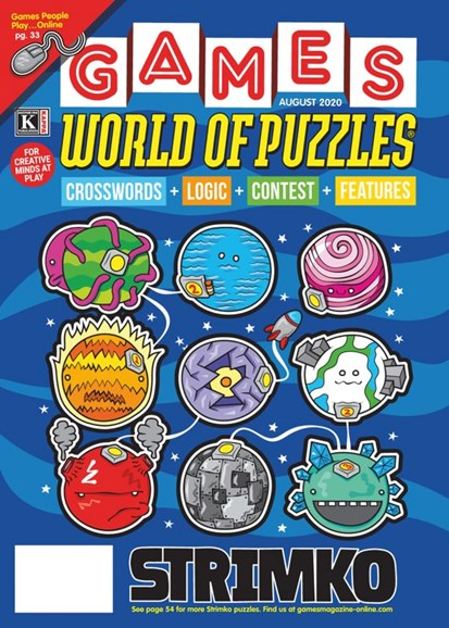 Games World of Puzzles Cover - 8/1/2020