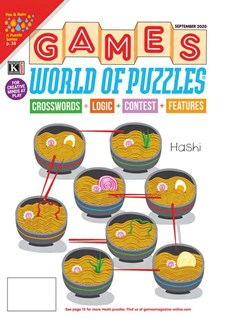 Games World of Puzzles | 9/2020 Cover