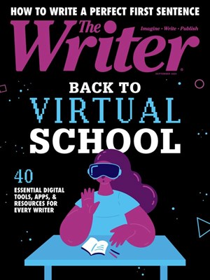 The Writer Magazine | 9/2020 Cover