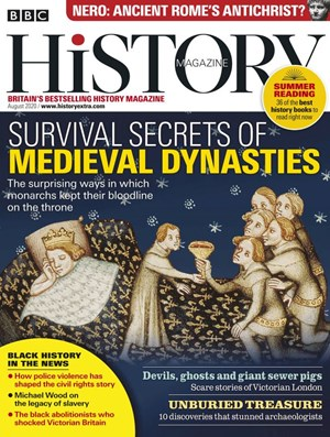 BBC History Magazine | 8/2020 Cover