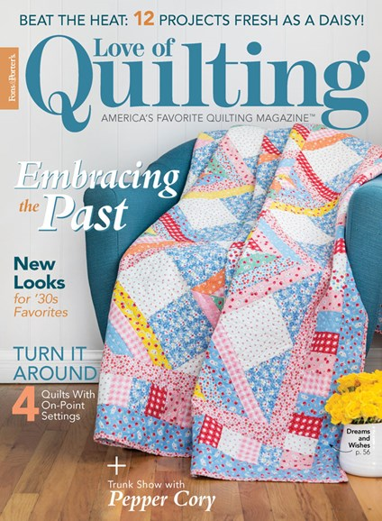 Fons & Porter's Love of Quilting Cover - 7/1/2020