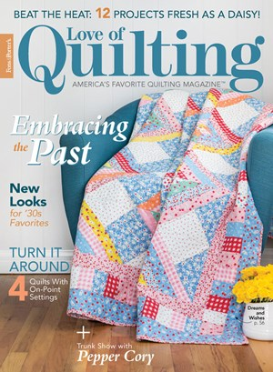 Fons & Porter's Love of Quilting | 7/2020 Cover
