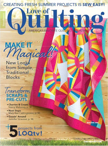 Fons & Porter's Love of Quilting Cover - 5/1/2020