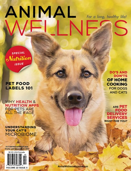Animal Wellness Cover - 10/1/2020